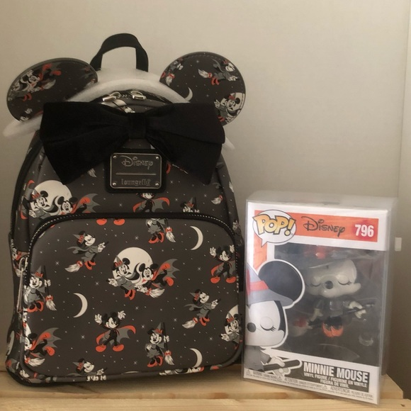 Mickey & Minnie Halloween Mini Backpack